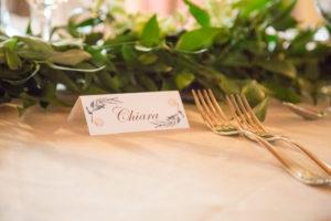 Tableau de mariage e segnaposto