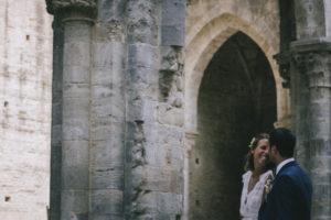 Matrimonio boho chic a San Galgano