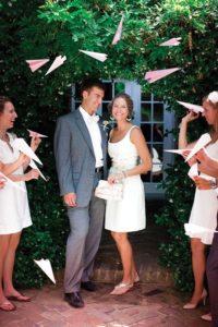 Un giorno un sogno_wedding planner Torino_lancio del riso matrimonio_aerei di carta