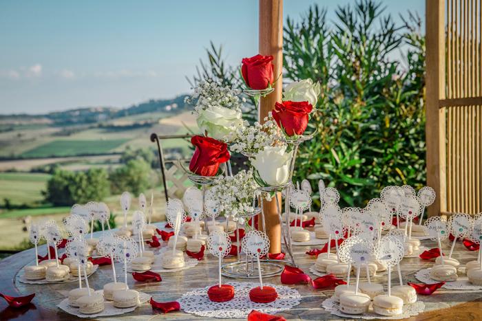 Matrimonio In Rosso : Matrimonio rosso e bianco