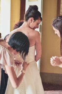 Abito da sposa: le persone da non portare con te