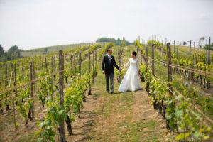 Matrimonio green in villa