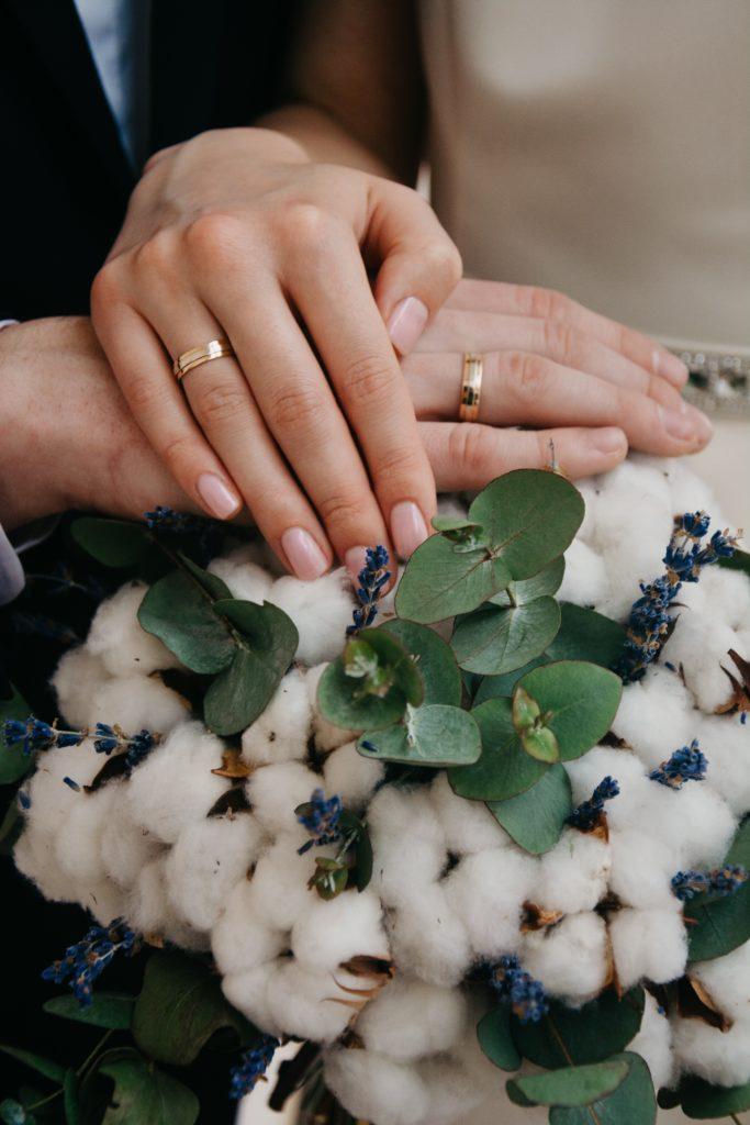 Bouquet invernale di Cotone