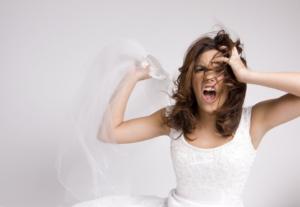 Sposa disperata-matrimonio e Coronavirus
