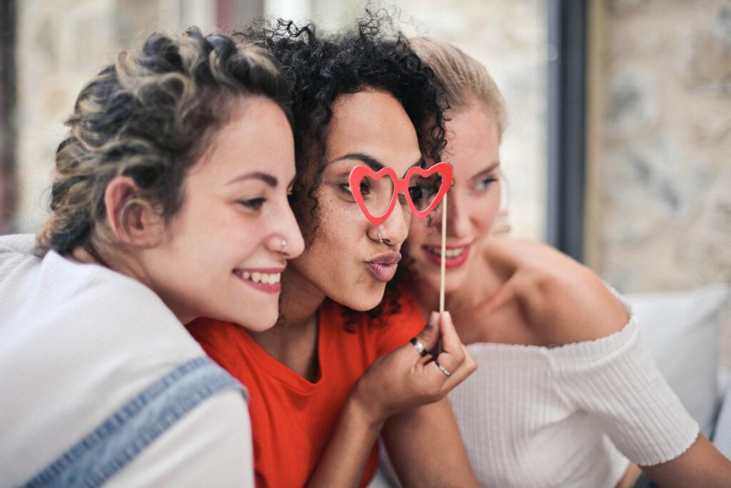 occhiali divertenti per il tuo photo booth