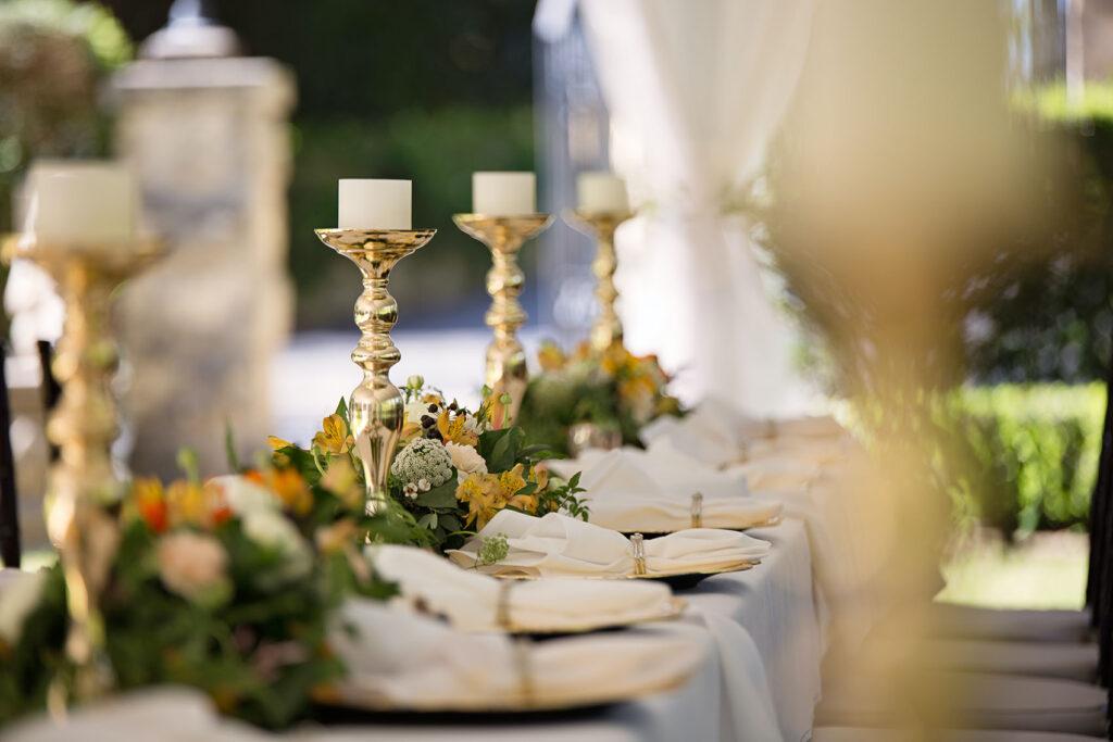 fiori matrimonio - centrotavola
