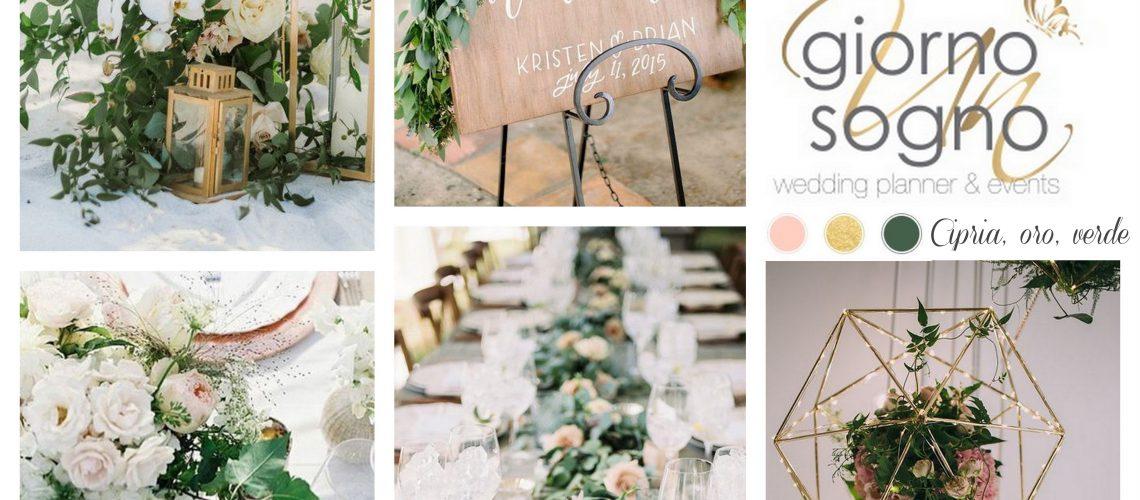 colore matrimonio 2017: come reinterpretare il greenery